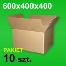 Karton 600x400x400 P-10 szt.