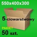 Karton 550x400x300 5-w P-50 szt.
