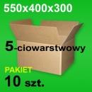 Karton 550x400x300 5w P-10 szt.