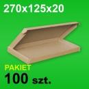 Pudełko F427 270x125x20 P-100 szt.