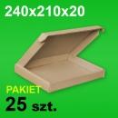 Pudełko F427 240x210x20 P-25 szt.