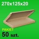 Pudełko F427 270x125x20 P-50 szt.