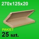 Pudełko F427 270x125x20 P-25 szt.