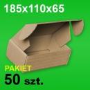 Pudełko F427 185x110x65 P-50 szt.