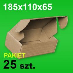 Pudełko F427 185x110x65 P-25 szt.