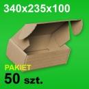 Pudełko F427 340x235x100 P-50 szt.