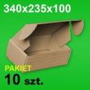 Pudełko F427 340x235x100 P-10 szt. 15,50 zł
