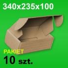 Pudełko F427 340x235x100 P-10 szt.