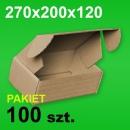 Pudełko F427 270x200x120 P-100 szt.