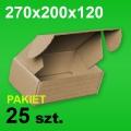 Pudełko F427 270x200x120 P-25 szt.