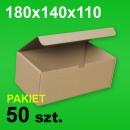 Pudełko F421 180x140x110 P-50 szt.