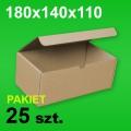 Pudełko F421 180x140x110 P-25 szt.