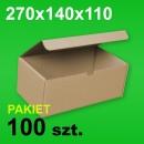 Pudełko F421 270x140x110 P-100 szt.