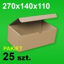 Pudełko F421 270x140x110 P-25 szt.