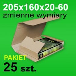 Pudełko Multibox 205x160x60 P-25 szt.