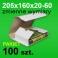 Pudełko Multibox 205x160x60 białe P-100 szt.