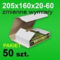 Pudełko Multibox 205x160x60 białe P-50 szt.