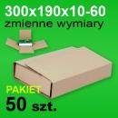 Pudełko Multibox 300x190x60 P-50 szt.