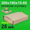 Pudełko Multibox 300x190x60 P-25 szt.