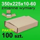 Pudełko Multibox 350x225x60 P-100 szt.