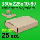 Pudełko Multibox 310x220x60 P-25 szt.