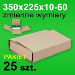 Pudełko Multibox 350x225x60 P-25 szt.