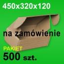 Pudełko F427 450x320x120 P-500 szt.