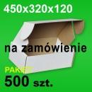 Pudełko F427 450x320x120 białe P-500 szt.