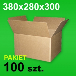 Karton 380x280x300 P-100 szt.