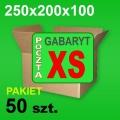 Karton 250x200x100 XS P-50 szt.