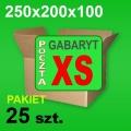 Karton 250x200x100 XS P-25 szt.