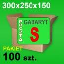 Karton 300x250x150 S P-100 szt. 84,00 zł