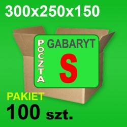 Karton 300x250x150 S P-100 szt.