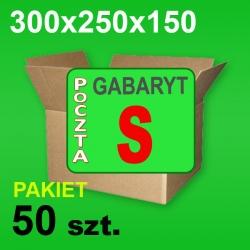 Karton 300x250x150 S P-50 szt.