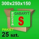Karton 300x250x150 S P-25 szt.