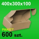 Pudełko F427 400x300x100 P-600 szt.