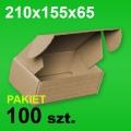 Pudełko F427 210x155x65 P-100 szt.