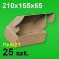 Pudełko F427 210x155x65 P-25 szt.