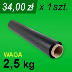 Folia stretch czarna 2,5 kg - 1 szt.