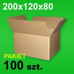 Karton 200x120x80 P-100 szt.