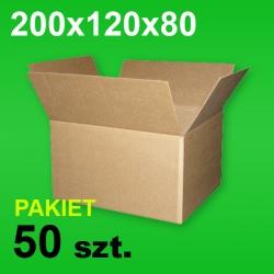 Karton 200x120x80 P-50 szt.