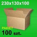 Karton 230x130x100 P-100 szt.