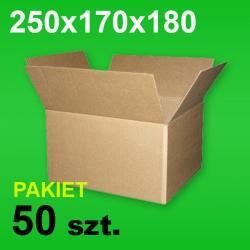 Karton 250x170x180 P-50 szt.