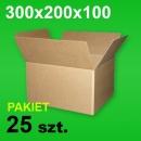 Karton 300x200x100 P-25 szt.