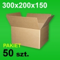 Karton 300x200x150 P-50 szt.