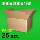 Karton 300x200x150 P-25 szt.