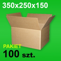 Karton 350x250x150 P-100 szt.