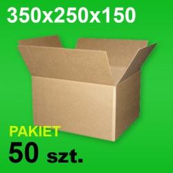 Karton 350x250x150 P-50 szt.