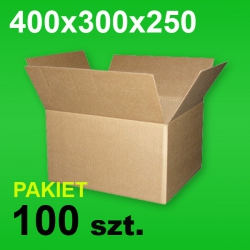 Karton 400x300x250 P-100 szt.