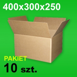 Karton 400x300x250 P-10 szt.